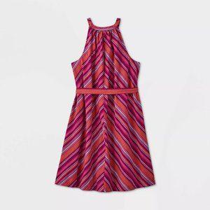 Women's Tie Waist Shirtdress - A New Day